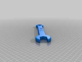 25毫米扳手 3D模型