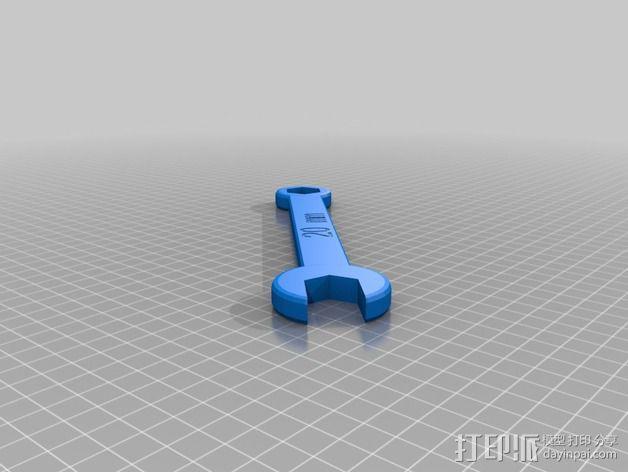 20毫米扳手 3D模型  图1
