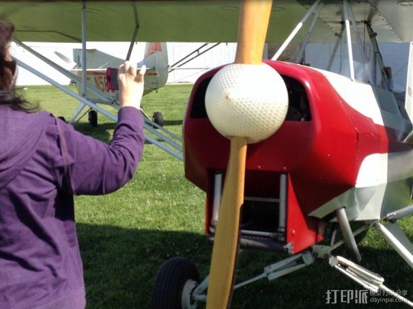 飞机螺旋桨整流罩 3D模型  图4