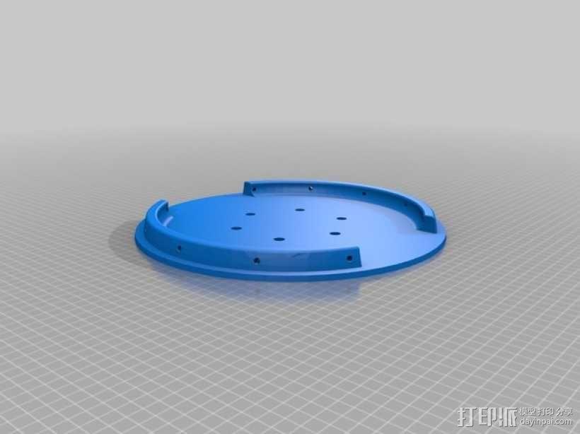 飞机螺旋桨整流罩 3D模型  图3