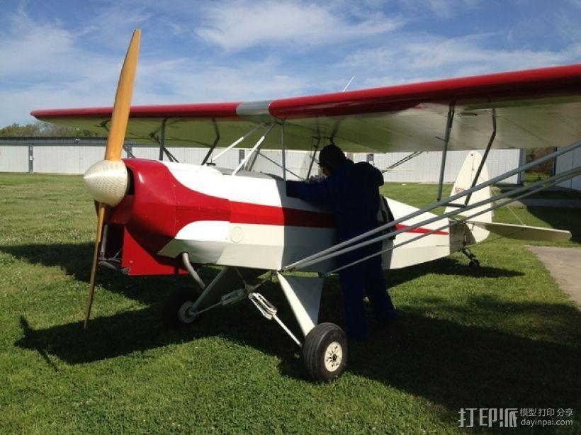 飞机螺旋桨整流罩 3D模型  图14