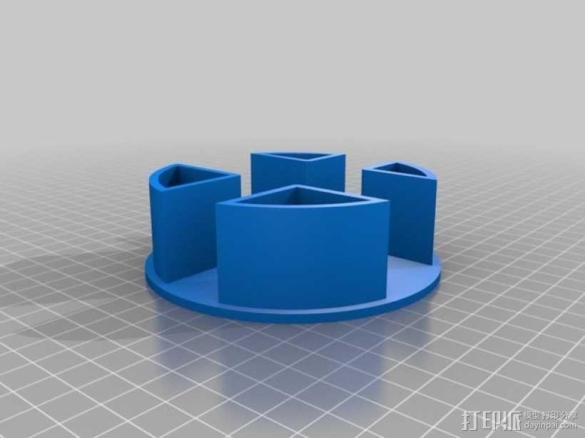 AURA机械臂零部件 3D模型  图2