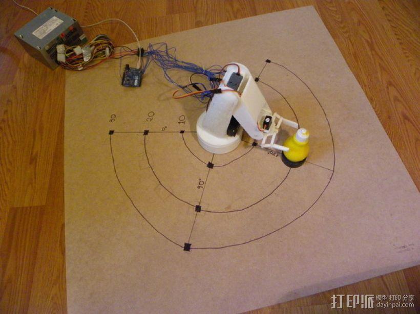 AURA机械臂零部件 3D模型  图4
