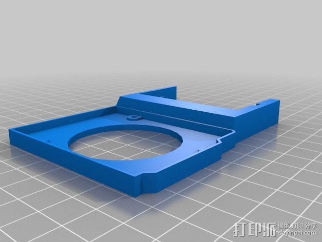 arduino电路板连接器 3D模型  图2