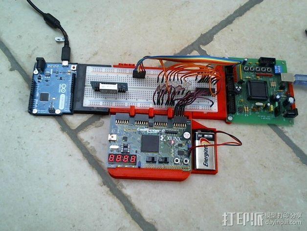 arduino电路板连接器 3D模型  图3
