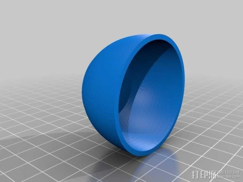 5.8 ghz天线罩 3D模型  图3