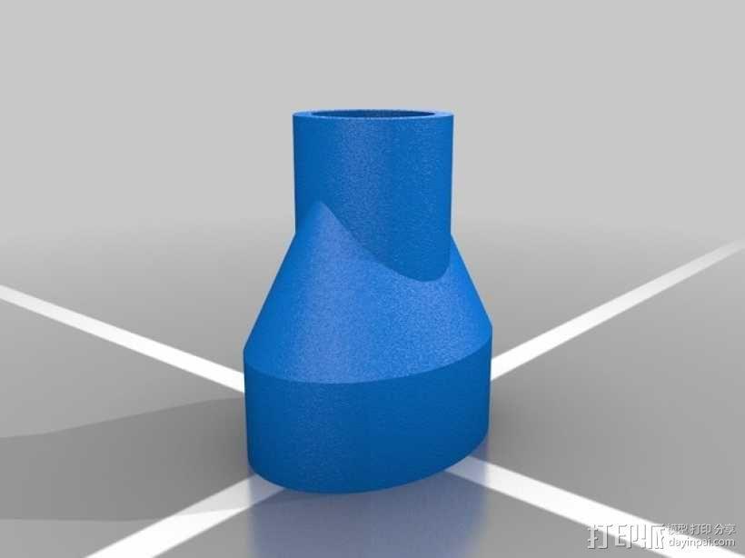 管形弹匣 帽盖 3D模型  图5