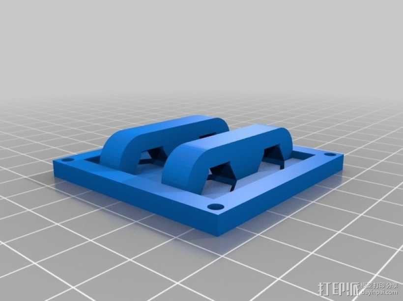 按钮面板 3D模型  图1