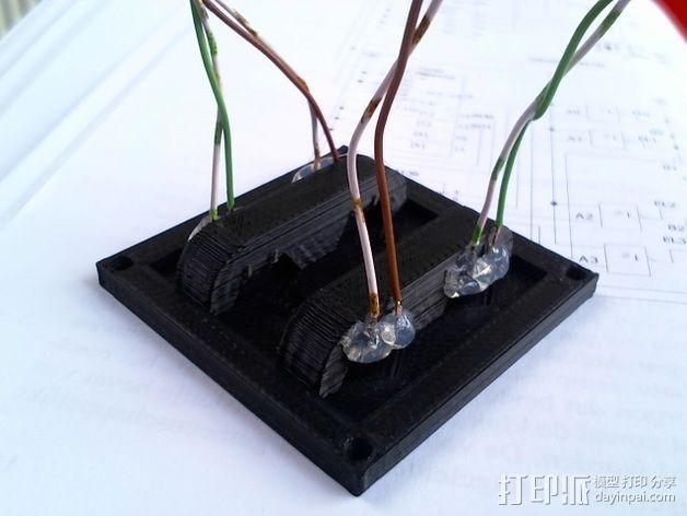 按钮面板 3D模型  图2