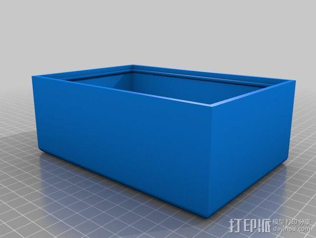 拇指琴  3D模型  图2