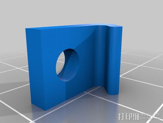 白板 固定架 3D模型  图2