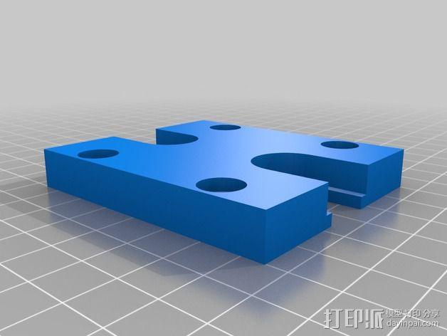 小号 号嘴拔出器  3D模型  图2