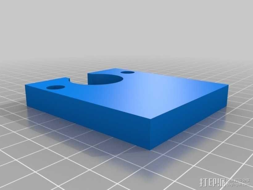 小号 号嘴拔出器  3D模型  图1