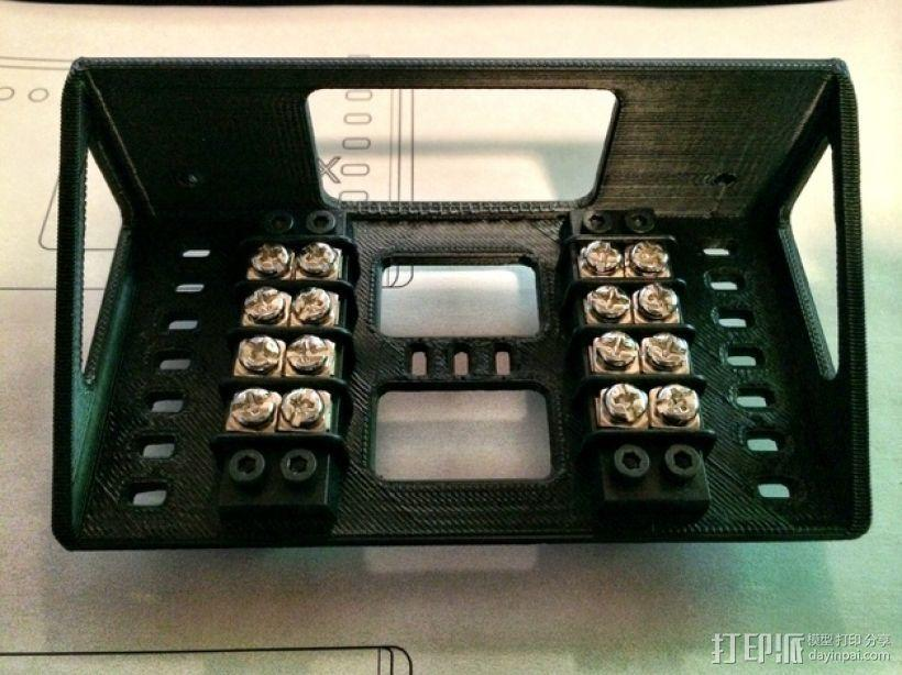 Shapeoko 2电路板支架 3D模型  图1