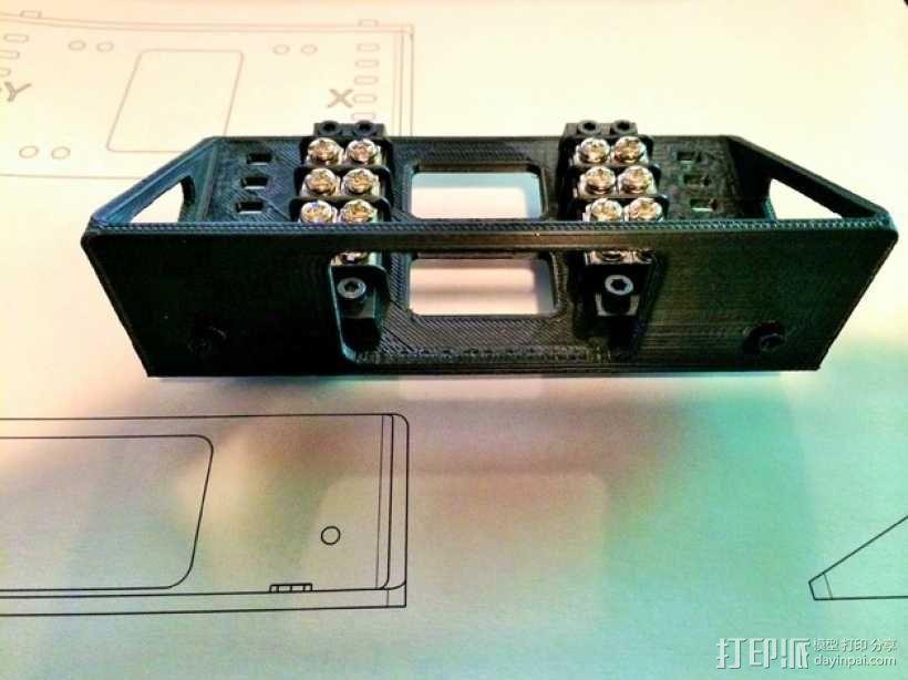 Shapeoko 2电路板支架 3D模型  图2