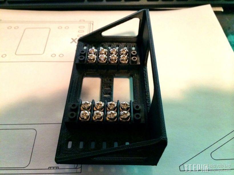 Shapeoko 2电路板支架 3D模型  图4