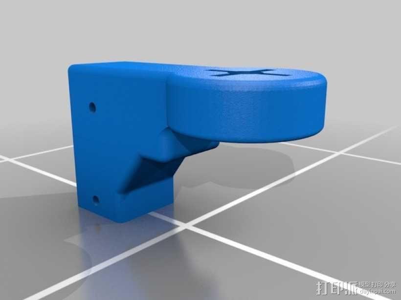四轴飞行器 马达架 3D模型  图3