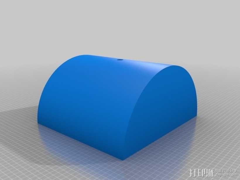 定制化平衡板 3D模型  图3
