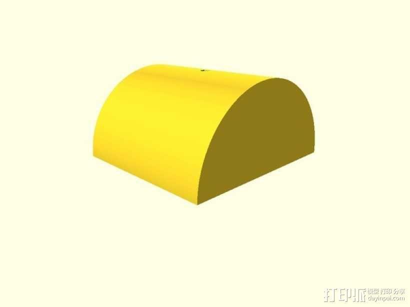 定制化平衡板 3D模型  图2