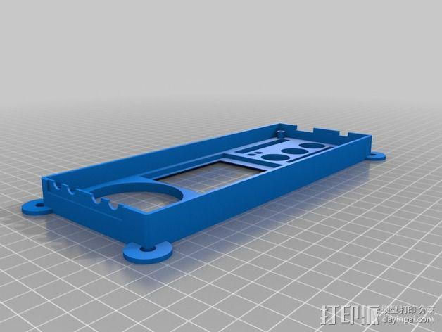 收发器外壳 3D模型  图6