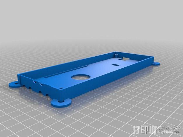 收发器外壳 3D模型  图7