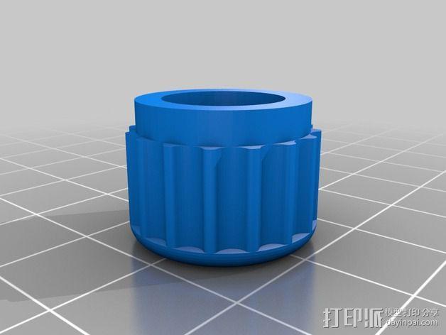 收发器外壳 3D模型  图9