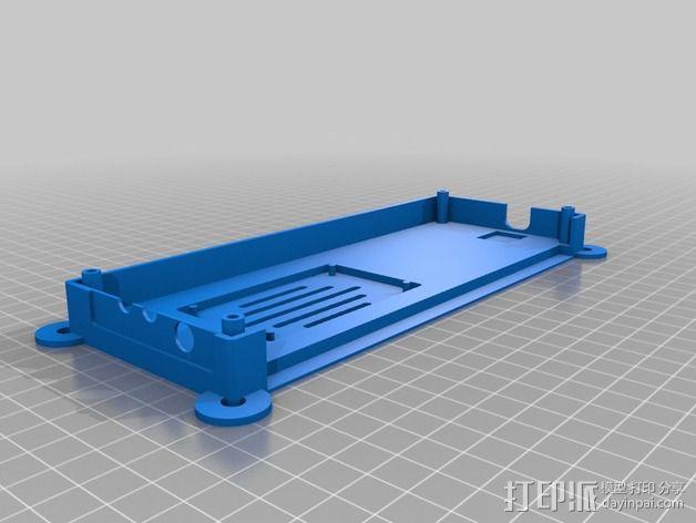 收发器外壳 3D模型  图8