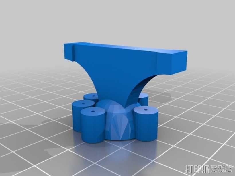 四足机器人 3D模型  图5