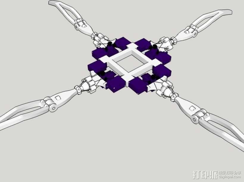 四足机器人 3D模型  图3