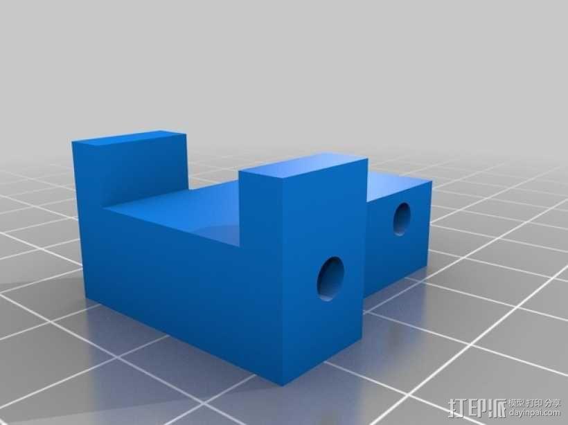 软弹气球 电热炮 3D模型  图2