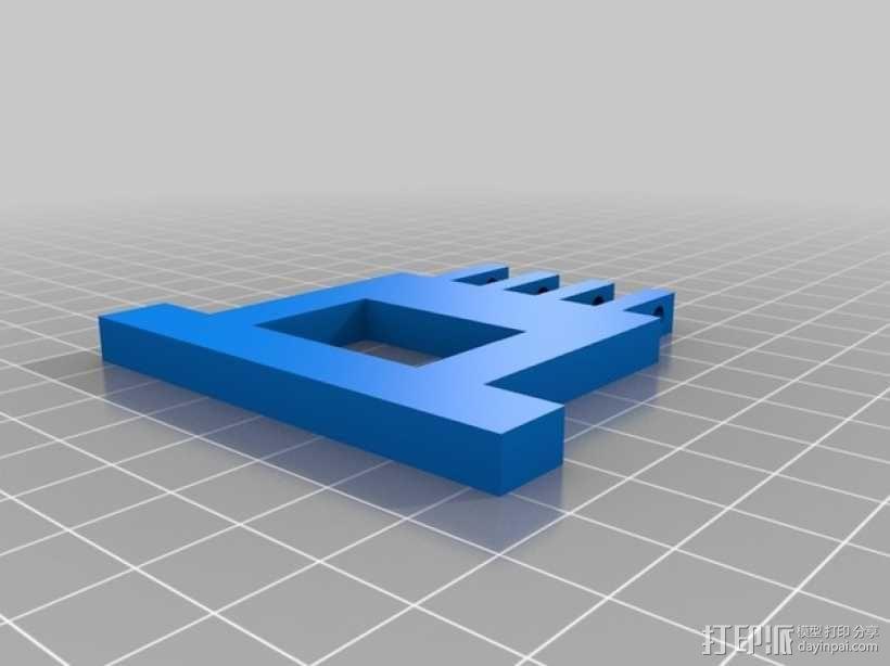 软弹气球 电热炮 3D模型  图5