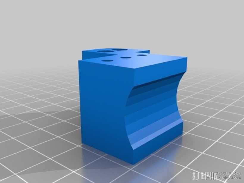 软弹气球 电热炮 3D模型  图7