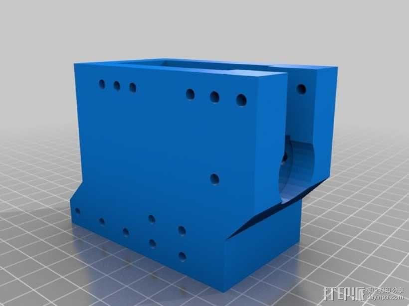软弹气球 电热炮 3D模型  图13