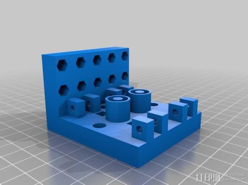 软弹气球 电热炮 3D模型  图14