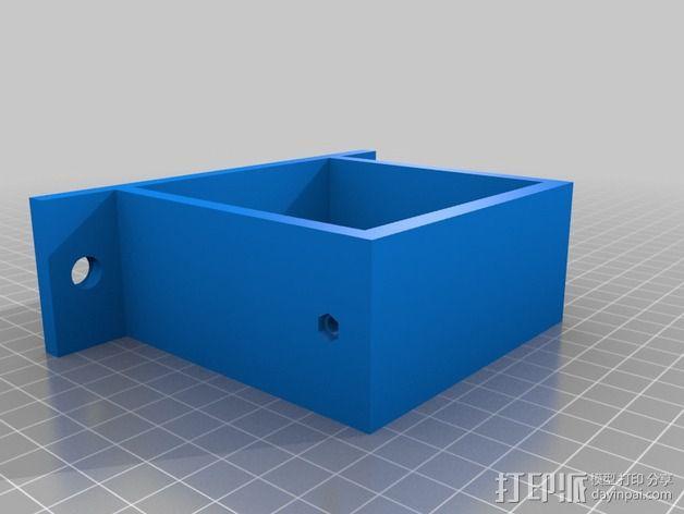 电源风扇安装支架 3D模型  图4