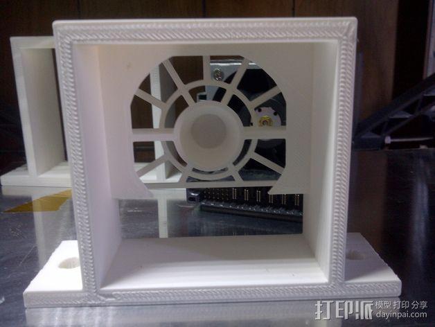 电源风扇安装支架 3D模型  图8