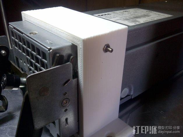 电源风扇安装支架 3D模型  图9