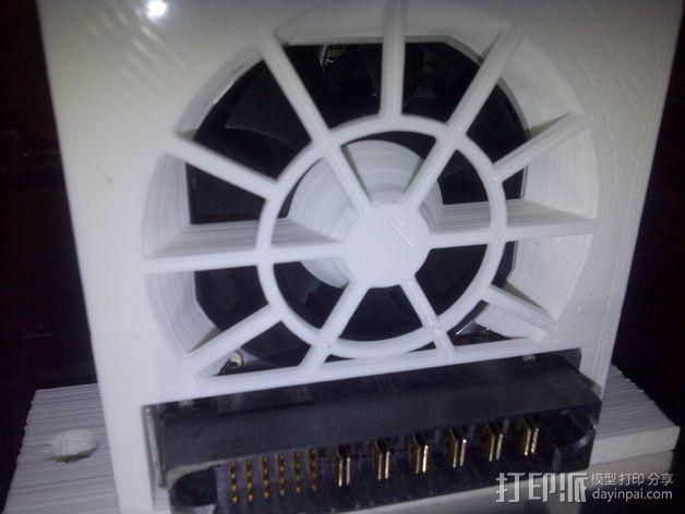 电源风扇安装支架 3D模型  图12
