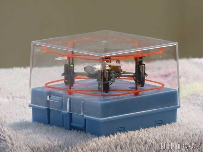 Hubsan四轴飞行器 保护架 3D模型  图1