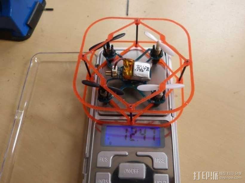 Hubsan四轴飞行器 保护架 3D模型  图3