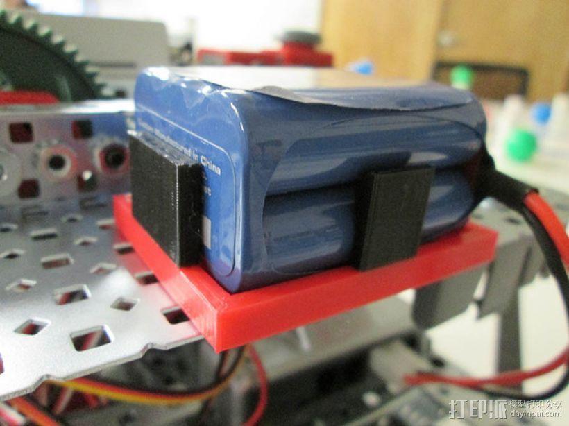 电池架 3D模型  图2