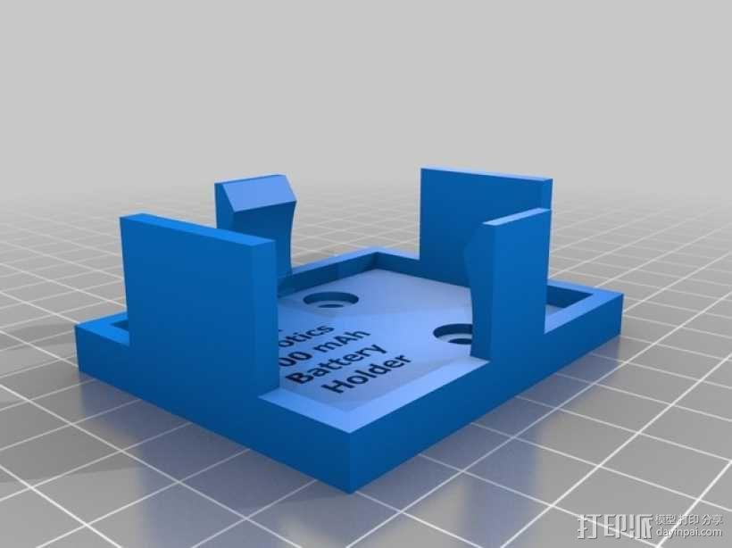 电池架 3D模型  图3