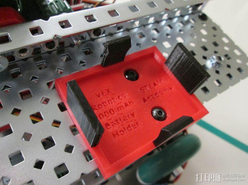 电池架 3D模型  图1