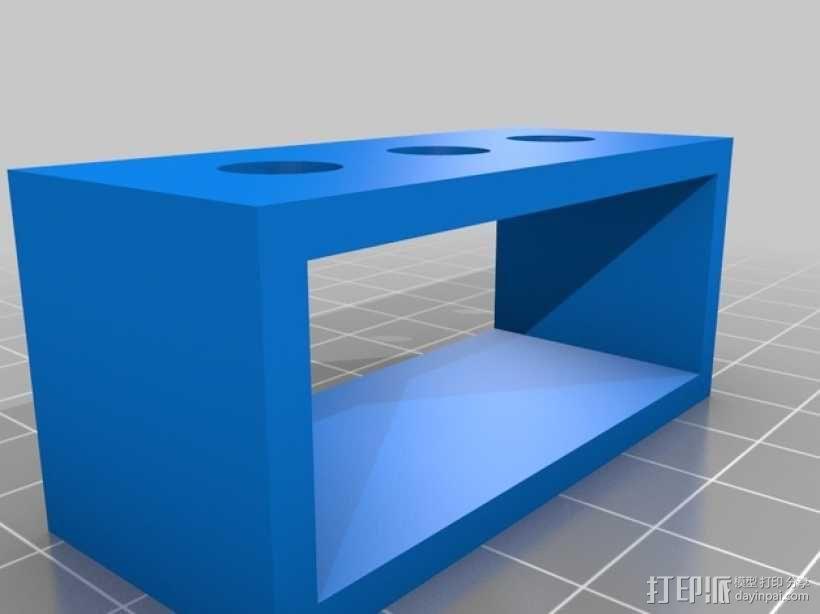 香蕉插座 支架 3D模型  图2