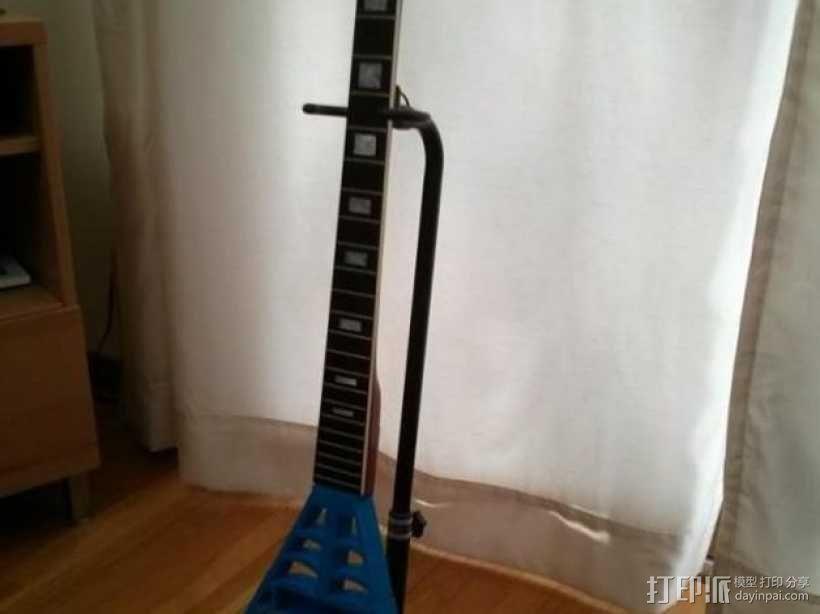 电吉他 3D模型  图4