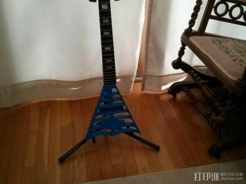 电吉他 3D模型  图2