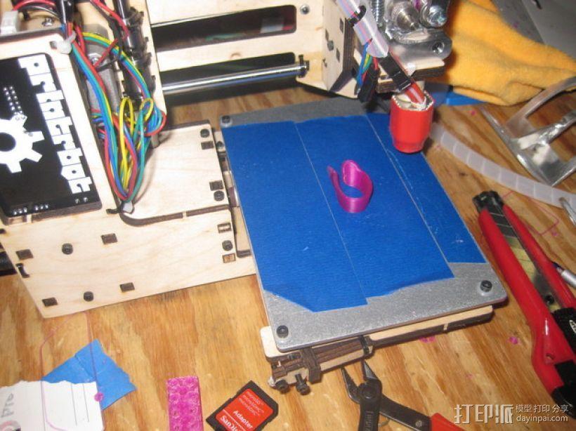五弦琴 琴桥和拇指拨子 3D模型  图7