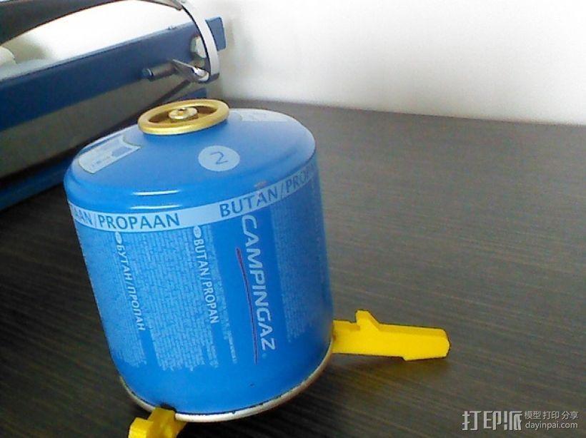 气罐底座 3D模型  图1