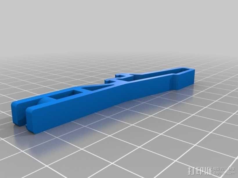 气罐底座 3D模型  图7
