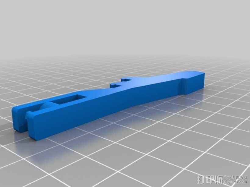 气罐底座 3D模型  图8